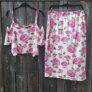 Full Circle Trends Matching Floral Set